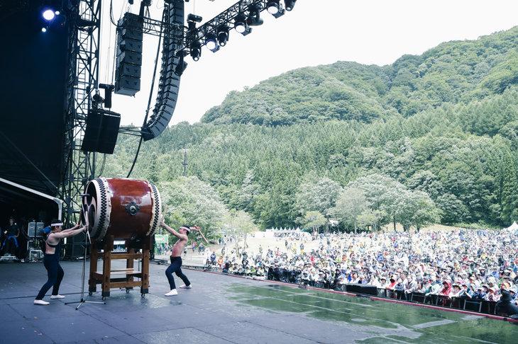 鼓童「FUJI ROCK FESTIVAL'18」舞台写真_13