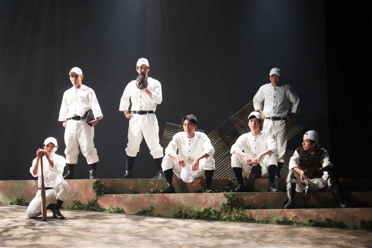 舞台『野球』飛行機雲のホームラン舞台写真_19