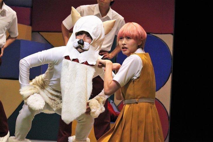 舞台『ハイスクール!奇面組2~嵐を呼ぶ変態ライバル対決~』舞台写真_4
