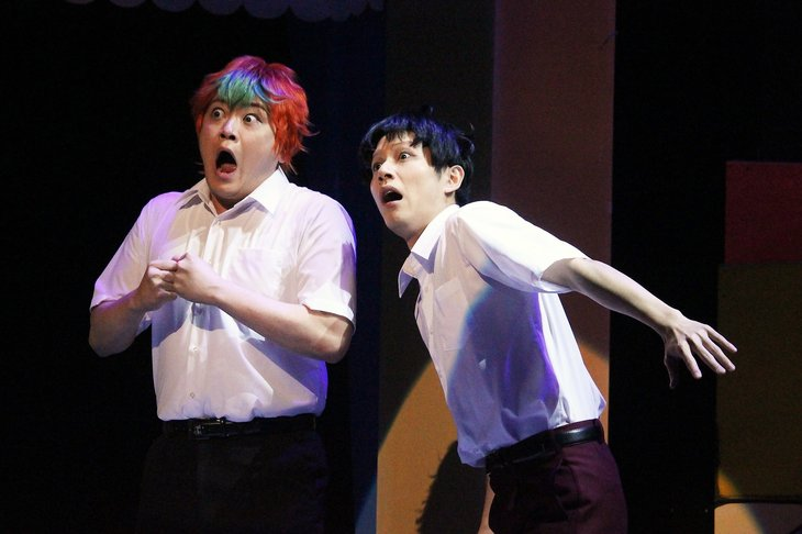舞台『ハイスクール!奇面組2~嵐を呼ぶ変態ライバル対決~』舞台写真_6