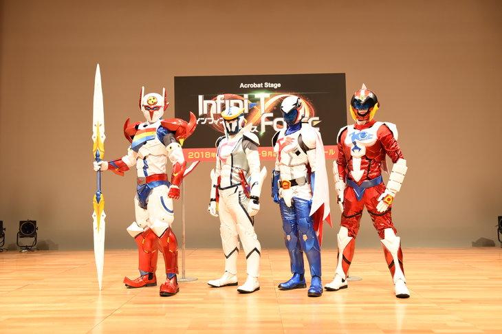 『Infini-T Force』衣裳お披露目イベントレポート_6