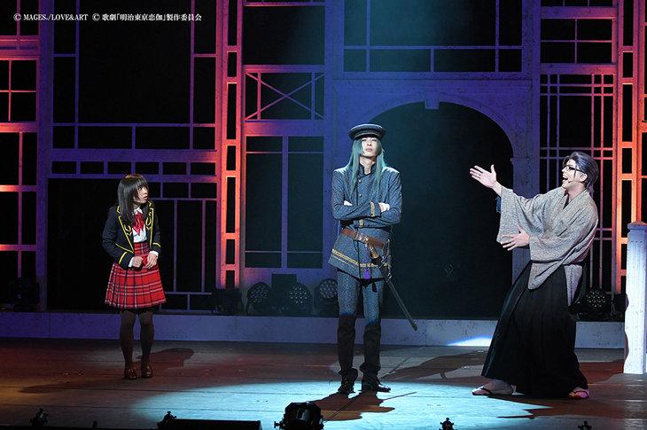 歌劇『明治東亰恋伽~月虹の婚約者~』大阪公演_舞台写真2