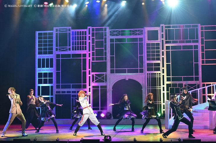 歌劇『明治東亰恋伽~月虹の婚約者~』大阪公演_舞台写真3