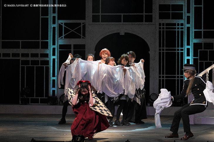 歌劇『明治東亰恋伽~月虹の婚約者~』大阪公演_舞台写真4