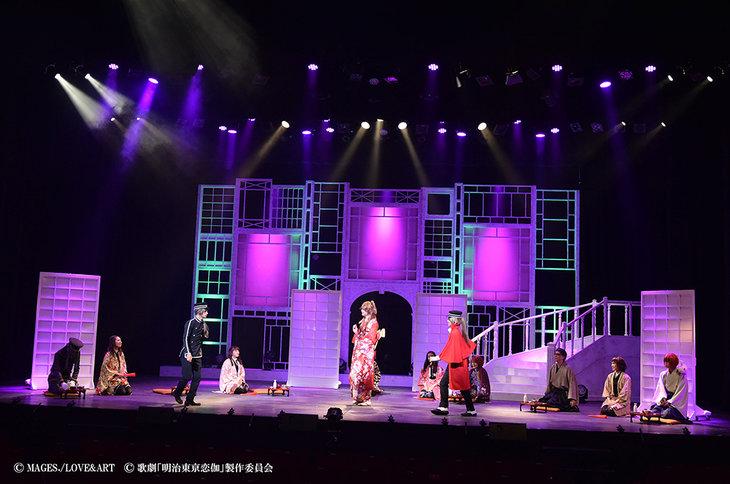 歌劇『明治東亰恋伽~月虹の婚約者~』大阪公演_舞台写真6