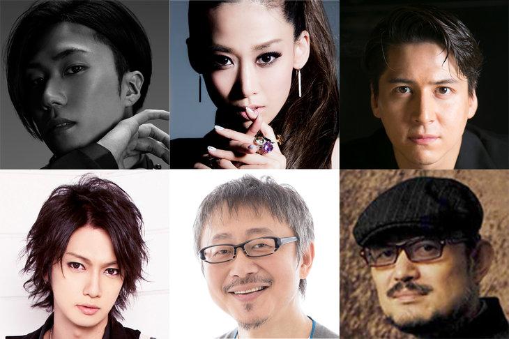 G2が「白浪五人男」を早乙女太一、龍真咲、喜矢武豊らで音楽活劇『SHIRANAMI』に