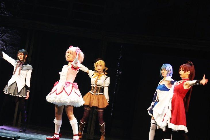 """""""舞台『マギアレコード 魔法少女まどか☆マギカ外伝』舞台写真_3"""