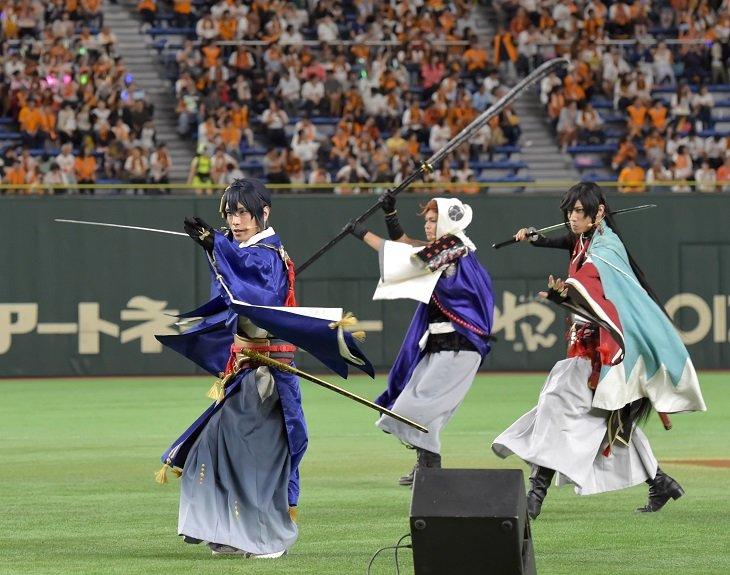 ミュージカル『刀剣乱舞』コラボナイターレポート_2