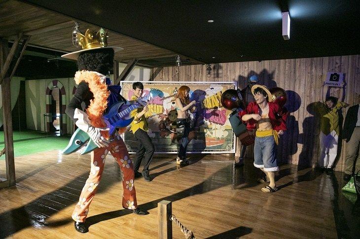 東京ワンピースタワー×DAZZLE「イマーシブシアター『時の箱が開く時』」舞台写真_3