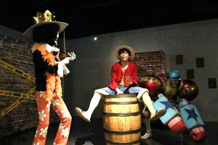 東京ワンピースタワー×DAZZLE「イマーシブシアター『時の箱が開く時』」舞台写真_8