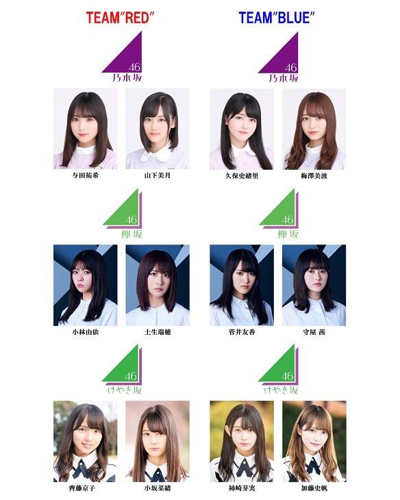 乃木坂×欅坂×けやき坂『ザンビ』追加キャスト6名が明らかに