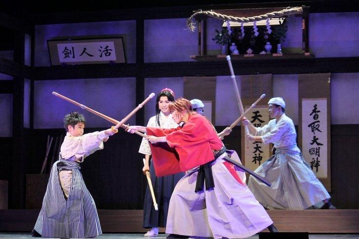 浪漫活劇『るろうに剣心』舞台写真_3