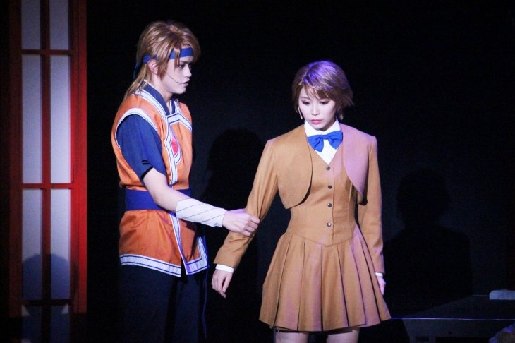 ミュージカル『ふしぎ遊戯-蒼ノ章-』舞台写真_7