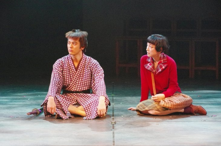 『キネマと恋人』舞台写真_2