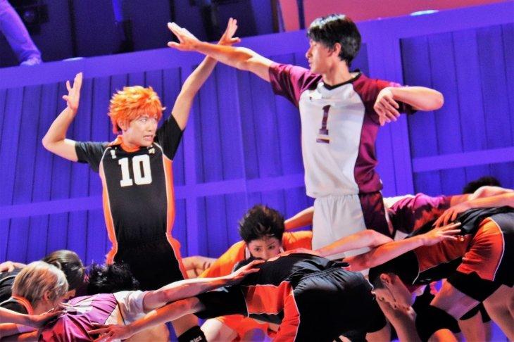 ハイパープロジェクション演劇「ハイキュー!!」〝最強の場所〞開幕!須賀健太「僕たちが最強のチームだ!」