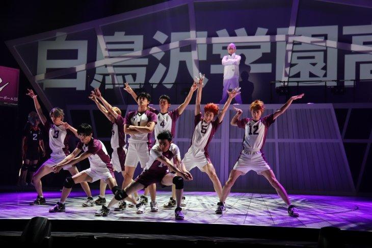 ハイパープロジェクション演劇「ハイキュー!!」〝最強の場所〞舞台写真_2