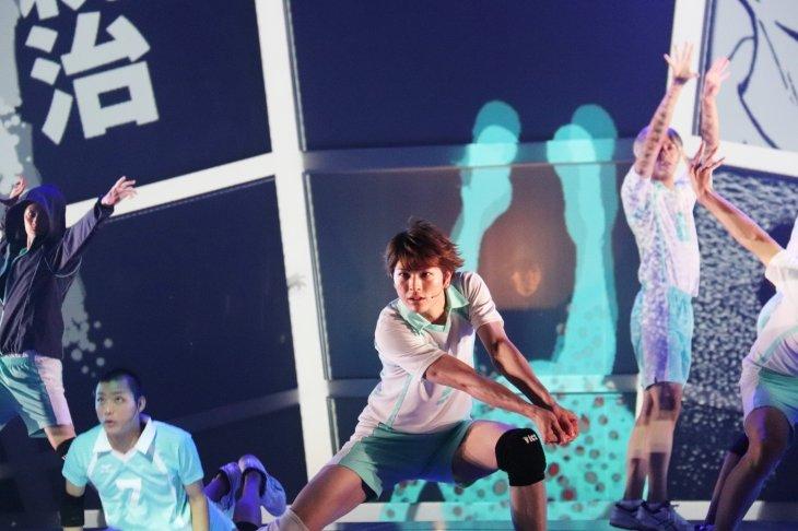 ハイパープロジェクション演劇「ハイキュー!!」〝最強の場所〞舞台写真_3