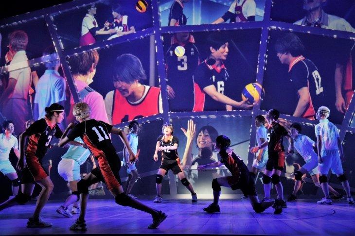ハイパープロジェクション演劇「ハイキュー!!」〝最強の場所〞舞台写真_4