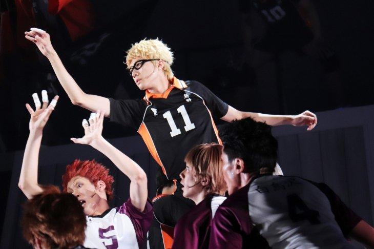 ハイパープロジェクション演劇「ハイキュー!!」〝最強の場所〞舞台写真_5
