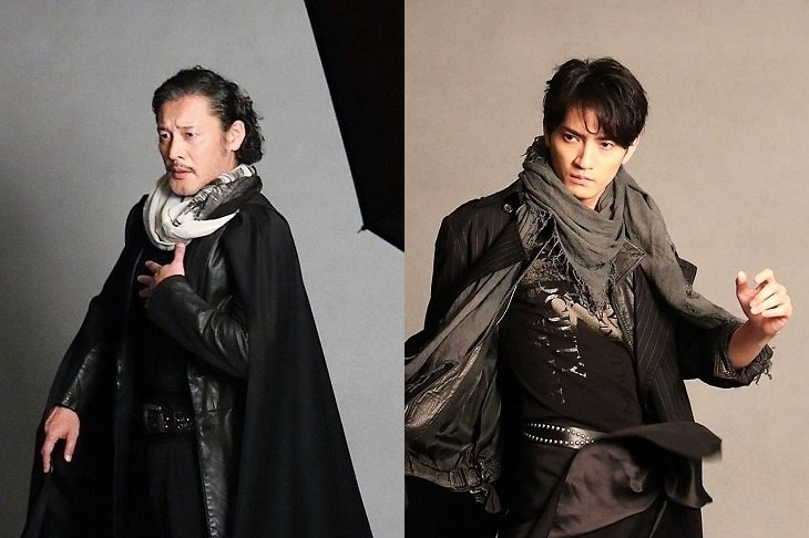 舞台『ヘンリー五世』横田栄司、中河内雅貴のビジュアル撮影から予感させる伝統と革新