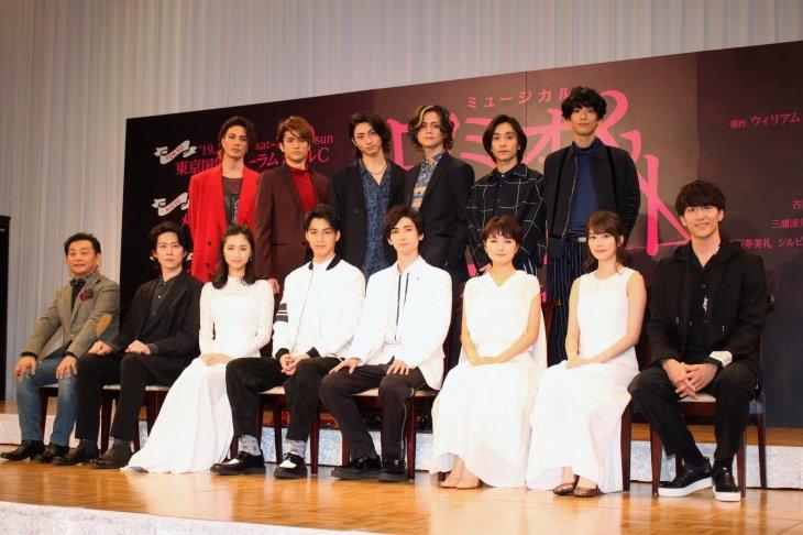 古川雄大&大野拓朗、再演にパワーアップを誓う!『ロミオ&ジュリエット』制作発表
