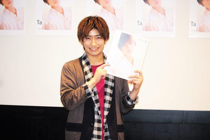納谷健1st写真集「Take me」初海外で見せた素顔に「いい顔するじゃん!」