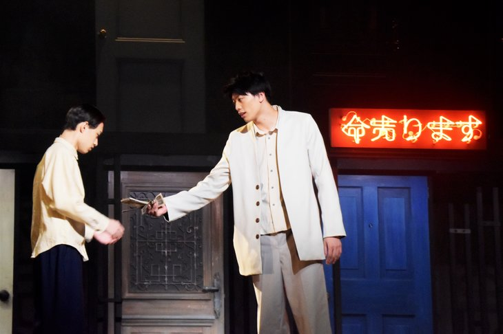 三島由紀夫の『命売ります』開幕!ノゾエ征爾、東啓介、上村海成のコメント到着