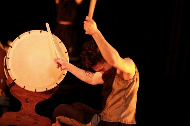 鼓童の新作公演『巡-MEGURU-』全国ツアースタート!滋賀公演のレポート到着