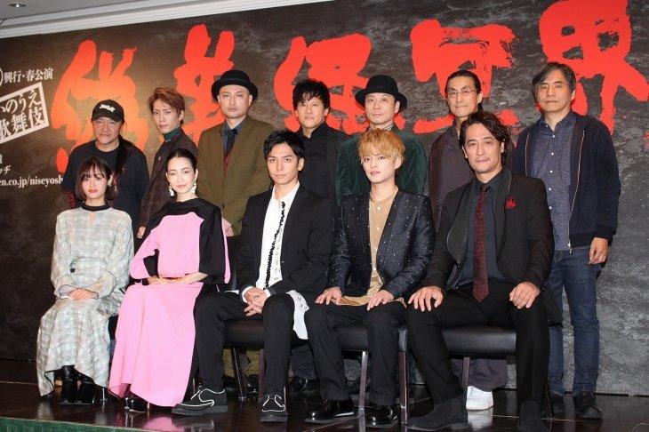 回らない新感線!生田斗真主演、3年ぶりの新作公演『偽義経冥界歌』製作発表