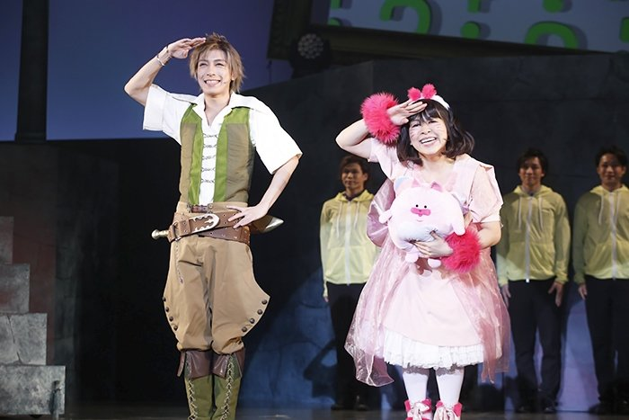 歌劇派ステージ『ダメプリ』ダメ王子VS完璧王子舞台写真_18
