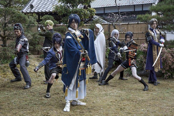 『映画刀剣乱舞』完成披露試写会12月27日開催!刀剣男士が一挙集結