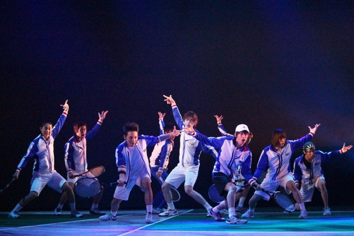 ミュージカル『テニスの王子様』3rdシーズン 青学(せいがく)vs四天宝寺舞台写真_5