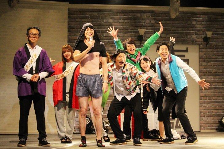 平野良、乃木坂46和田まあや、川尻恵太らがポップに真剣にコントライブ!『ユニコーン』開幕