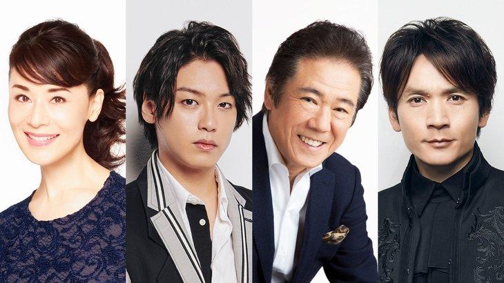 大地真央主演で『クイーン・エリザベス』共演に高木雄也、西岡徳馬、長野博ら