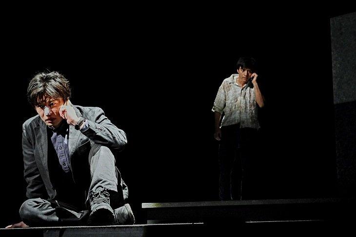 栗山民也×田中圭『CHIMERICA チャイメリカ』開幕!一枚の写真が捉えた時代の真実