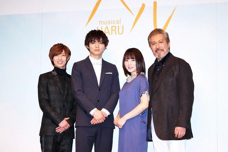 薮宏太、10年ぶり主演作で「体脂肪率一桁」を目指す気合い!ミュージカル『ハル』製作発表