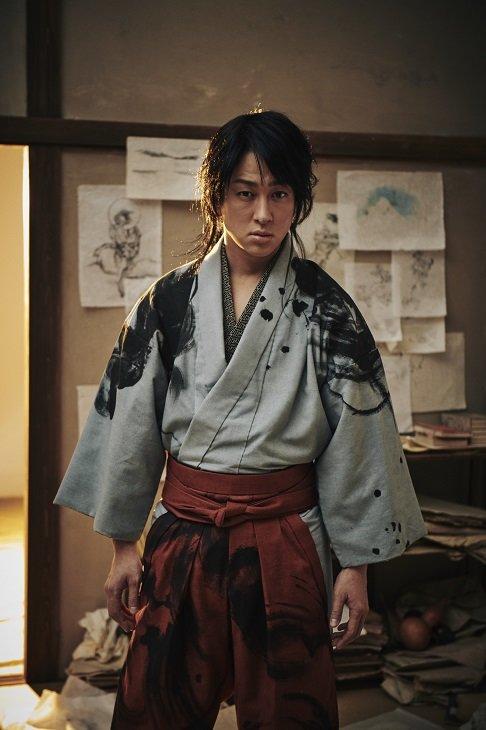 横山裕が葛飾北斎に!『北齋漫畫』で演出・宮田慶子と初顔合わせ