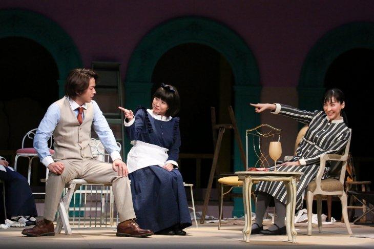 麻生久美子、中村倫也の魅力が狂おしいほど爆発!根本宗子の『クラッシャー女中』開幕