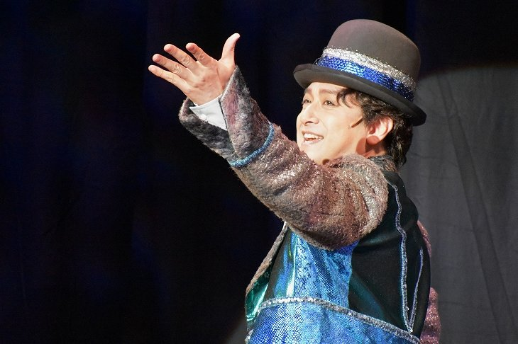 石丸幹二と実咲凜音が切ない恋物語を演じる音楽劇『ライムライト』レポート