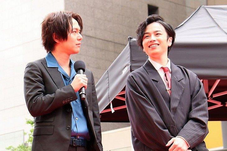 鈴木勝吾、平野良らが日比谷で生歌を披露!ミュージカル『憂国のモリアーティ』SPイベントレポート