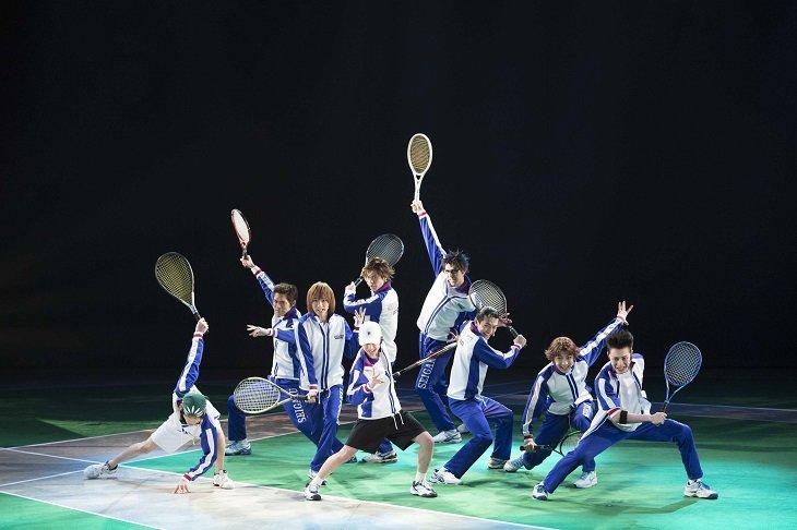 ミュージカル『テニスの王子様』3rdシーズン青学(せいがく)9代目出演の4作をWOWOWで放送