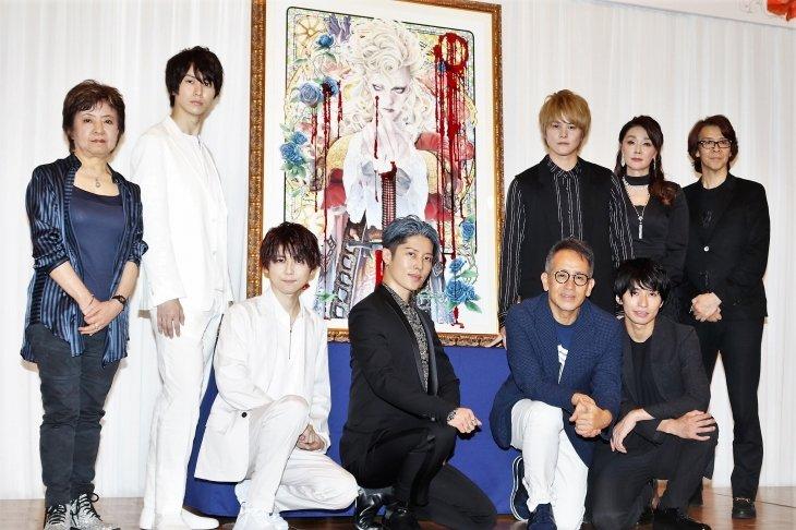 宮本亜門が中島美嘉、古屋敬多、梶裕貴らと『イノサン』で「音楽を通してドラマを伝える」会見レポート