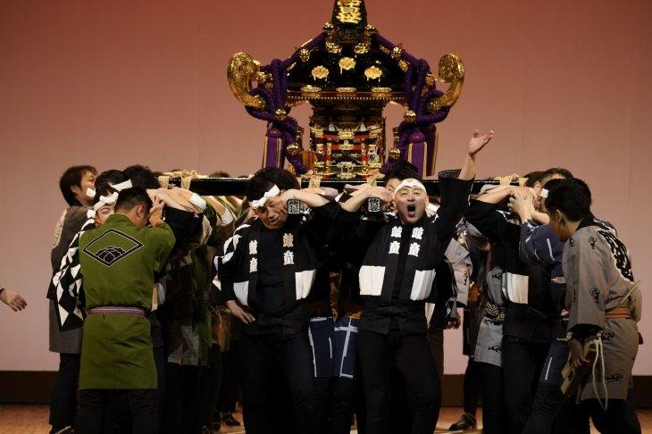 鼓童の浅草特別公演『粋』千秋楽に三社祭の神輿登場!平成中村座以来のサプライズ