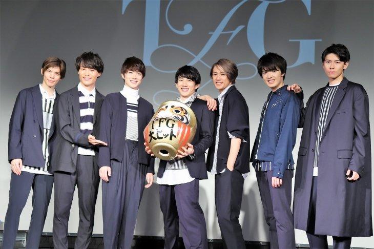 赤澤遼太郎&前川優希&健人らによる「TFG」がデビューに向けヒット祈願!