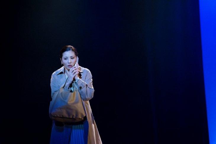 壮一帆「稽古場からずっと心が震えています」一つの事件を二つの視点で描く舞台『大悲』開幕