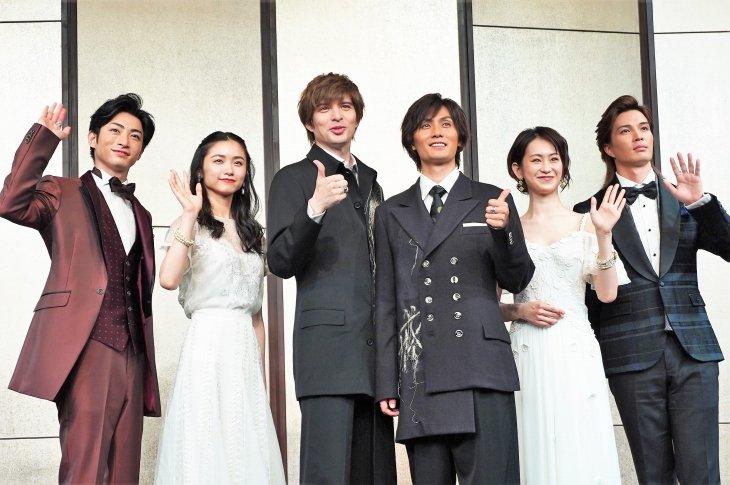 城田優、演出で「今までで一番の加藤和樹だと言わせたい」ミュージカル『ファントム』製作発表レポート