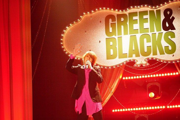 WOWOW『グリーン&ブラックス』#29はミュージックショー&『ペテン師と詐欺師』稽古見学