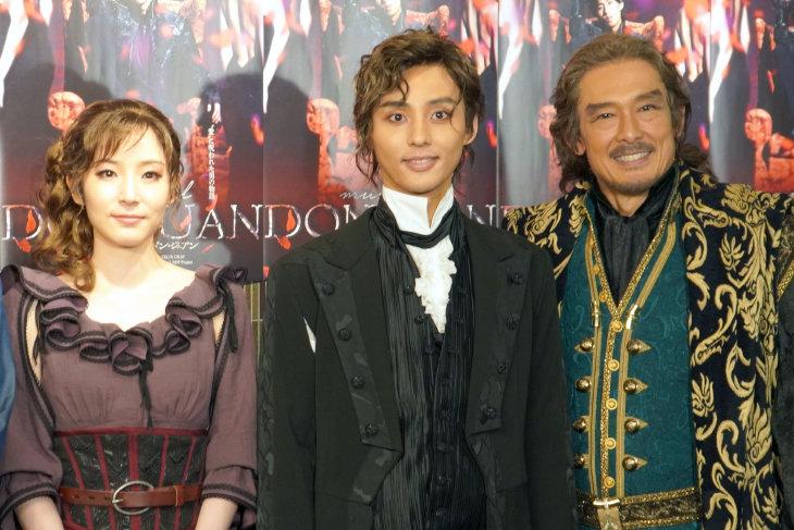 ミュージカル『ドン・ジュアン』開幕!藤ヶ谷太輔「抱かれる気持ちで来て」