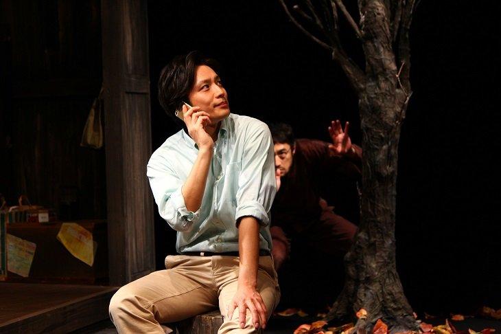 偶然出会ってしまった3人を結ぶ運命の糸とは?久保田秀敏・糸原舞・曽世海司による『トリスケリオンの靴音』開幕