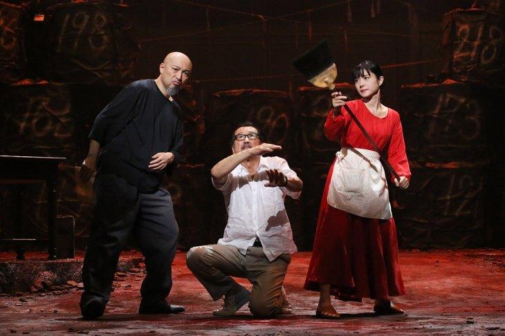 『アジアの女』まもなく開幕!吉田鋼太郎「石原さとみという稀有な女優の存在なしには完成しない」